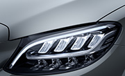 Mercedes benz c class features - LED high performance headlamps